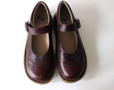 Dr. Martens Mary Jane style Maroon Leather Shoes
