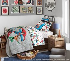 Justice League Bedding | PBKids