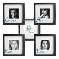 Christian, Ana, Kate, Elliot #CAKE Fifty Shades of Grey by E L James