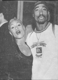 Tupac and jada pinkett smith Shakira, Tupac And Jada, Adidas Superstar, Tupac Wallpaper, Girl Wallpaper, Tupac Makaveli, Tupac Pictures, Jada Pinkett Smith, 90s Hip Hop