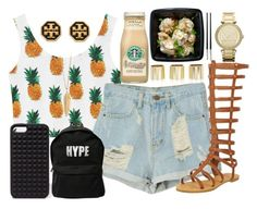 """""""442."""" by tyra-bryant ❤ liked on Polyvore featuring River Island, Starbucks, MICHAEL Michael Kors, ZoÃ« Chicco, Forever 21, ASAP, Christofle and Tory Burch"""
