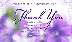 Free To My Wife eCard - eMail Free Personalized Mother's Day Cards Online