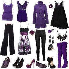 Conoce los colores que mejor combinan | 4LittleDots Diy Fashion, Fashion Outfits, Colourful Outfits, Purple, Polyvore, Image, Style, Ideas, Color Coordination