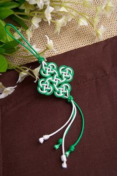 同心結包飾 Love Knot Bag Decoration by Rope-Art, via Flickr