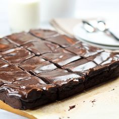Deliciously Healthy Sweet Potato Brownies! I have got to try these.... Sweet potatoes in a brownies?