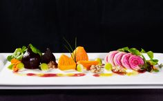 Beet Salad, Golden Beets, Candy Striped Beets, & Red Beets