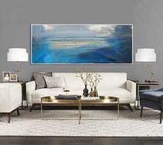 78 x 32 Overscale ABSTRACT PAINTINGORIGINAL by tegafineart on Etsy