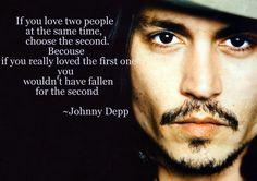 True ;3 #JohnnyDepp #quotes #love