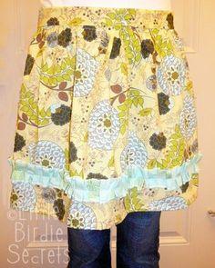 Little Birdie Secrets: apron gift set