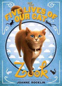 ★ The Five Lives of Our Cat Zook by Joanne Rocklin ~ Maybe the only book to ever make me cry on an airplane, which is really saying something. Especially since I'm not a cat person. :) Just a really well written family story. Mark Twain Award, Good Books, My Books, Abrams Books, Good Readers, Chapter Books, Great Stories, Read Aloud, The Book