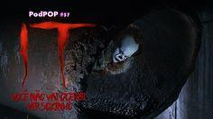 O podpop #57 está assustador! Falamos sobre a nova adaptação da obra de Stephen King, o filme It O filme é uma adaptação do livro, também chamado de It A Coisa, do aclamado autor best sellter Stephen King. Esta não é a primeira vez que a obra é adaptada par ao audiovisual, em 1990 o canal ABC, dos EUA, fez a minissérie de dois episódios It: Uma Obra Prima do Medo, que se tornou um clássico.