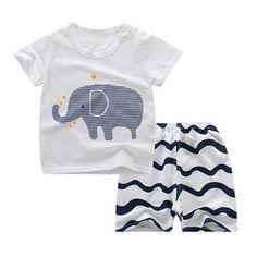 Cotton Cartoon Pajamas Of Children Girls Boy Nightwear . Boys Sleepwear, Boys Pajamas, Pyjamas, Bridal Nightwear, Summer Outfits, Girl Outfits, Kids Glasses, Summer Baby, Outfit Sets