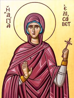 St. Elizabeth the Righteous by Sister Makrina of Patras, Greece