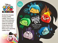 New Tsum Tsum from Inside Out out June 2nd