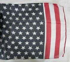 Long lightweight silk #chiffon style #american usa flag pashmina #scarf shawl wra,  View more on the LINK: 	http://www.zeppy.io/product/gb/2/232114657718/