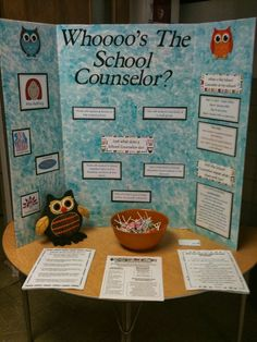 The Freckled School Counselor: PR Opps at Back to School Night