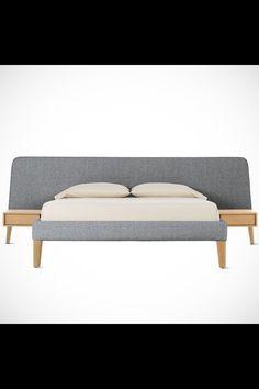 Parallel Wide queen bed