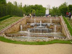 Bosquet des trois fontaines du chateau de versailles