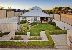 Moderne Gartengestaltung – 100 erstaunliche Gartenideen - dach Gartenideen landschaft trends gartenkunst