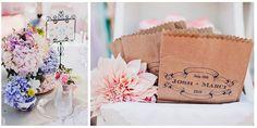 cute stamped paper bags