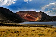 Flaming gorge from antelope flats 2
