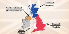 The Difference Between the United Kingdom, Great Britain and England Explained: A (Pre-Brexit) Video Explains Uk History, History For Kids, British History, Northern Irish, Northern Ireland, Kingdom Names, Uk Facts, Great Britain United Kingdom, Old Video