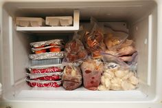 Freezer Meals for New Moms - I will definitely use this next time!