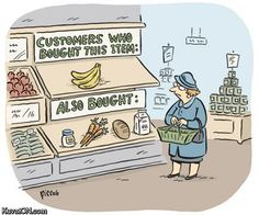 What shopping would be like if Amazon.com were a grocery store.