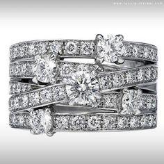 Harry Winston crossover ring