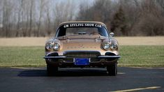1962 Chevrolet Corvette Styling Car S.O. 10224, Special Firemist Gold Paint presented as lot S170.1 at Indianapolis, IN 2016 - image10