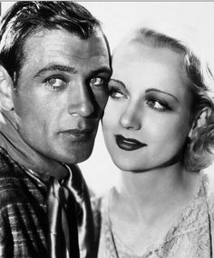Gary Cooper and Carole Lombard,1930s