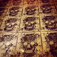 Skull Floor Tile