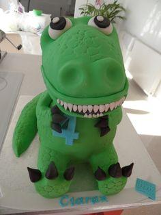 Dinosaurs — Birthday Cake Photos