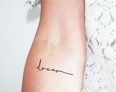 Resultado de imagem para dream tattoo