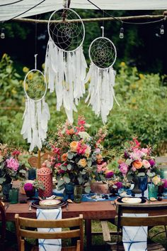 Midsummer Night's Soiree Dinner Party Tablescape featured on CAMILLE STYLES design by BURKE   DESIGN + PLANNING photo by ALEA MOORE floral by STYLISH STEMS ATLANTA