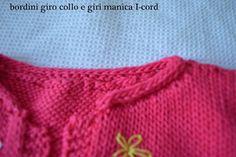 Il mio Mondo: gilet bimba lavorato a maglia
