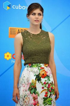 Alexandra Daddario step out for the 2013 Giffoni Film Festival photo call