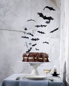 Halloween Craft: Bat Mobile