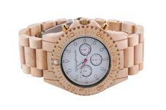 Wood Watches Make Fashion Statement