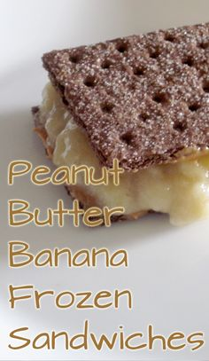 Cool off with these Peanut Butter Banana Frozen Sandwiches.