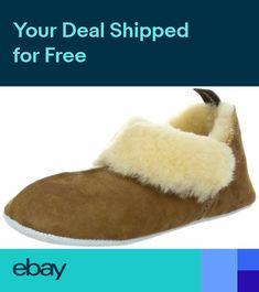 563c05c4bda7 Shepherd Ladies Genuine Sheepskin Slippers Pumps Soft Sole Real Womens NINA  UK