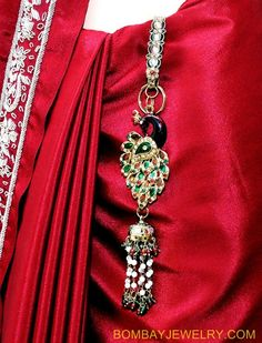 goldplated multicolour peacock saree key chain [Regular Price: $28.04 Now only: $11.22] Indian Wedding Jewelry, Wedding Jewelry Sets, Indian Jewelry, Gold Plated Bangles, Silver Bangles, Antique Jewellery Designs, Jewelry Design, Maharashtrian Jewellery, Waist Jewelry