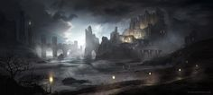 Awesome Concept Art by Jordan Grimmer