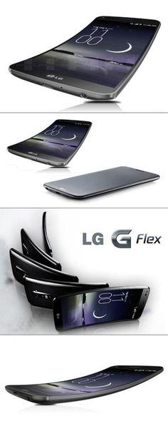 A flexible phone? Say hello to the LG Flex!