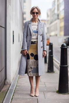 Galeria | STREET STYLE NA London Fashion Week - F/W 2015/16 | | VU MAG
