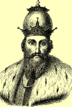 Daniel of Galicia (Ukrainian: Данило Романович, Данило Галицький: Danylo Romanowych (Halytskyi)) was a King of Ruthenia, Prince of Galicia (Halych) (1205–1255), Peremyshl (1211), and Volodymyr (1212–1231). He was crowned by a papal archbishop in Dorohochyn 1253 as the first King of Rus' (1253–1264).