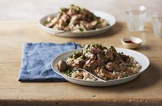 Beef stroganoff makes a classic family supper, with its rich soured cream sauce and beautifully tender meat. Get this stroganoff recipe at Tesco Real Food.