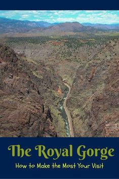 Colorado Springs Day Trip: The Royal Gorge #manitousprings The Royal Gorge in Colorado offers all sorts of adventures both extreme and family friendly.  It makes a great day trip from Colorado Springs!