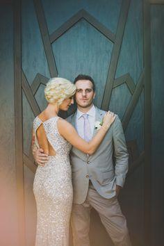 Colorful Fig House LA wedding: Brittany + Steve