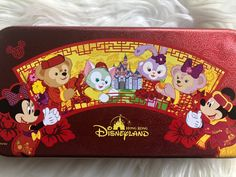 Red Pencil, Magical Jewelry, Metal Tins, Duffy, Black Friday, Disneyland, Hong Kong, Mickey Mouse, Join